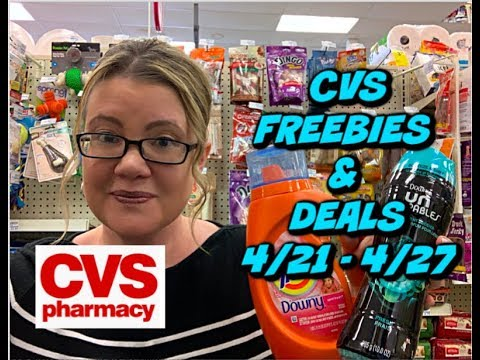 CVS FREEBIES & DEALS (4/21 - 4/27) | MONEYMAKER TOOTHPASTE, FREE RAZORS, CHEAP DOWNY, TIDE & MORE!