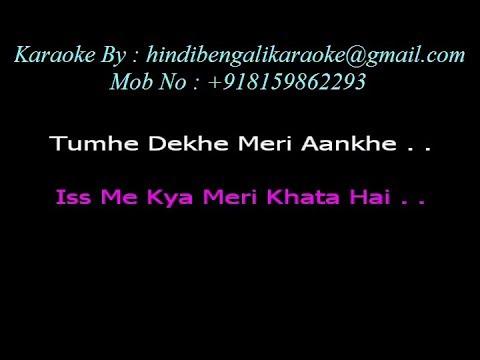 Tumhe Dekhe Meri Aankhen - Karaoke - Rang (1993) - Kumar Sanu, Alka Yagnik - Customize