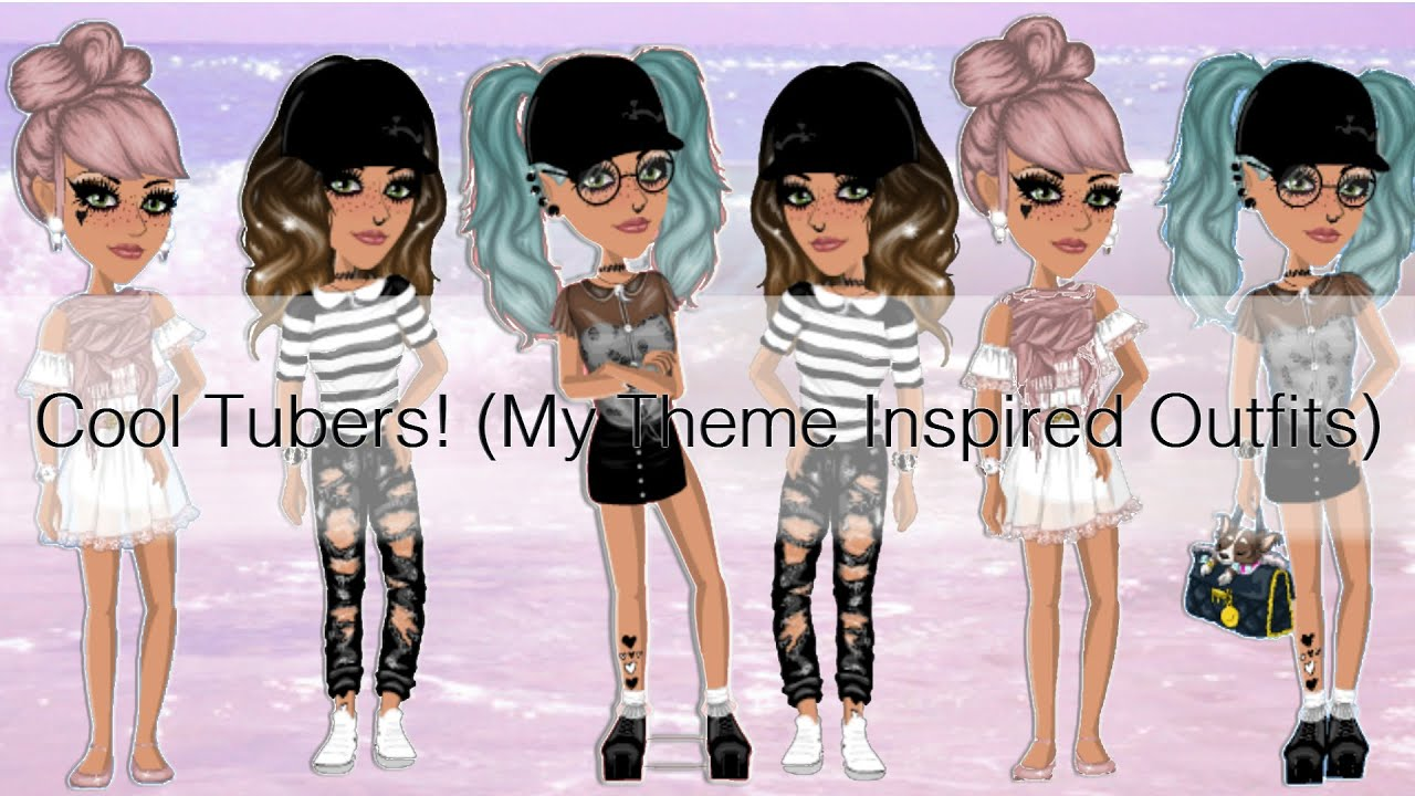 Msp Cool Tubers My Theme Inspired Outfits Youtube