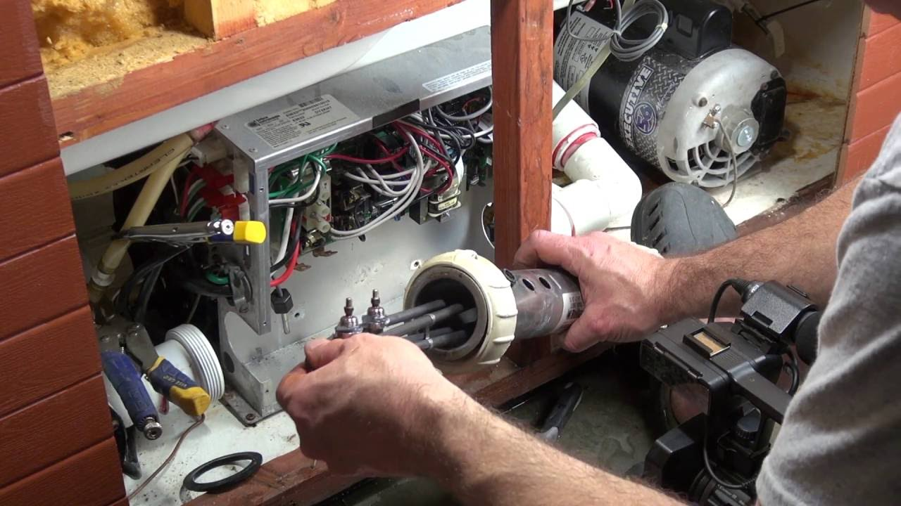 small resolution of gfci breaker trip diagnosis heater replacement hot tub how to spa guy