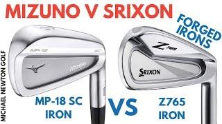 Mizuno MP-18 SC Iron VS Srixon Z765 Iron Head To Head