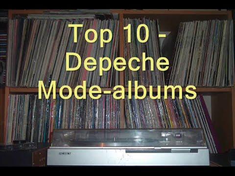 Top 10 - Depeche Mode-albums