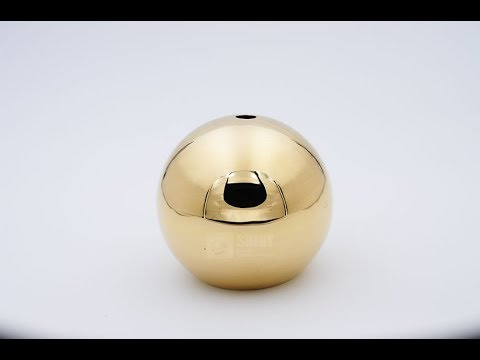 Hollow Brass balls hollow brass spheres @SHINY