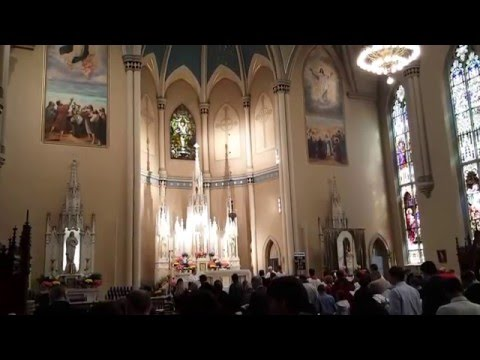Emmanuel Catholic Church Easter Season 2016 (Alleluia! Alleluia! Let the Holy Anthem Rise)