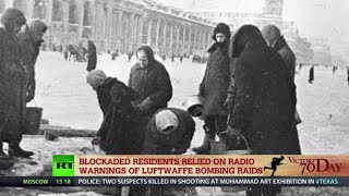 Siege of Leningrad: 872 days of hunger and bombardment