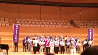 都立両国高校卒業式の歌、第26回東京校歌祭