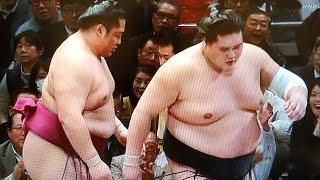 低画質ですみません。。 【優勝・横綱昇進おめでとう☆稀勢の里と横綱白...