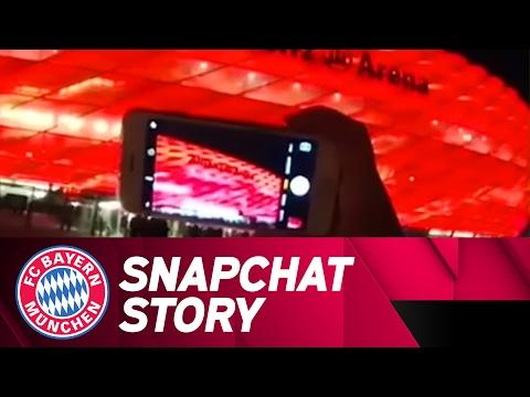 FC Bayern vs. Arsenal | Snapchat Story