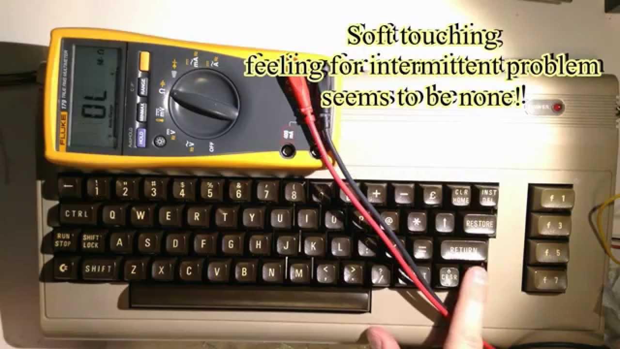 C64 Keyboard restoration  Revive key response