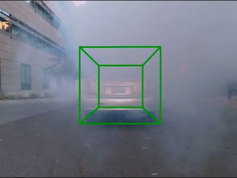 Radar imaging through fog