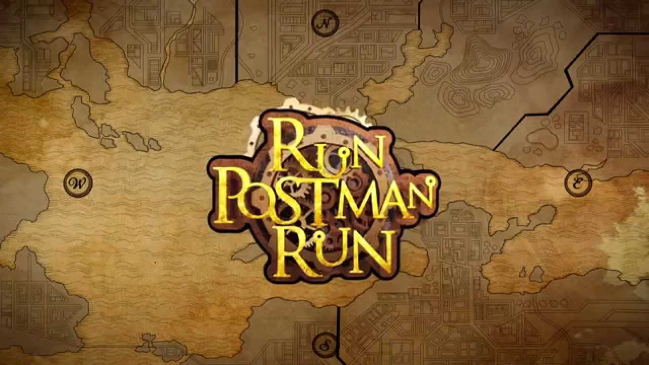 Run Postman Run: Game teaser and gameplay - iOS Android PSV