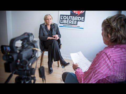 Marine Le Pen : entrevue avec l'Outarde Libérée