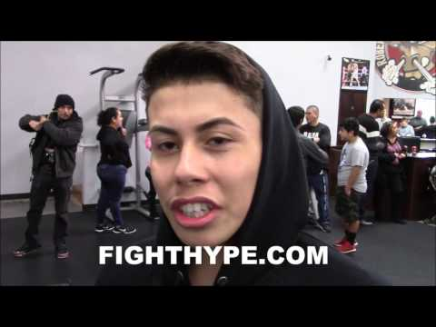 """AMATEUR MARC CASTRO ON SPARRING LOMACHENKO; HAS STYLE LIKE """"TRIPLE G MIXED W/ CRAWFORD"""""""