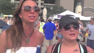 "Bayou Country Superfest-goers answer: What does ""country"" mean to you?"