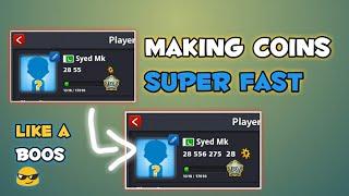 8 Ball Pool Making Coins Super Fast | Zero To Hero Ep 3