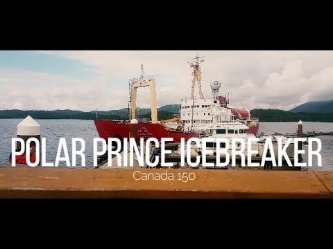 Polar Prince Icebreaker makes a stop at Prince Rupert, Bc