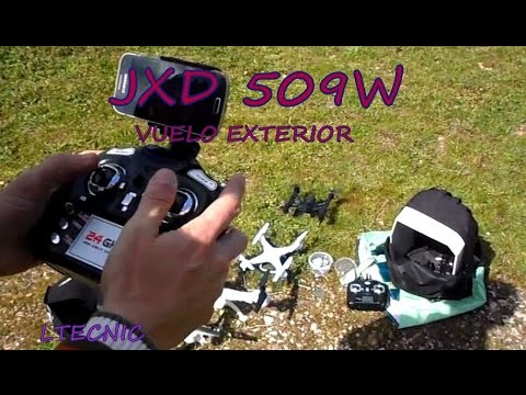 Квадрокоптер JXD 509W с WIFI предаване в реално време и 6-осов жироскоп 17