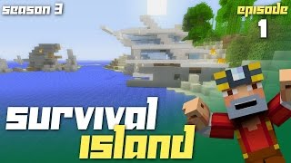 Minecraft Xbox One: Survival Island - Season 3! (Ep.1 - Early Exploring!)