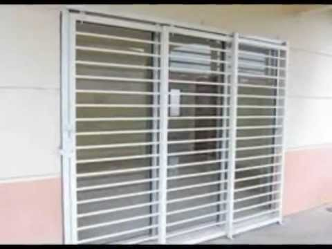 Grille door welding berkualiti dan harga murah youtube for Tubular window design