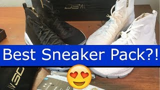 Under Armour Curry 4 Champ Pack More Rings Review