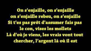 La fouine - Nhar sheitan click + Lyrics (La fouine VS Laouni) 2011 CD1