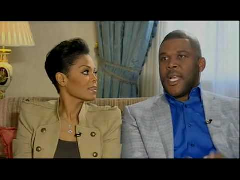 Janet Jackson and Tyler Perry on GMTV
