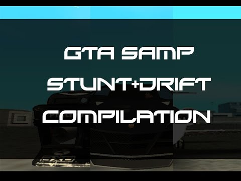 GTA SAMP:Stunt+Drift Compilation
