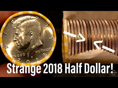 Strange 2018 Half Dollar Oddity To Search For! Error?