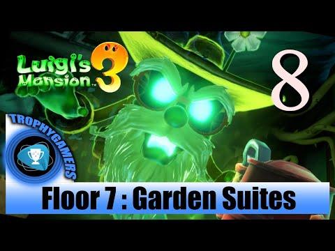 Luigi's Mansion 3 – Floor 7 : Garden Suites - Full Game Walkthrough Part 8