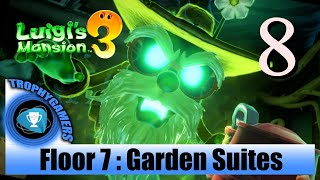 Luigi's Mansion 3 – Floor 7 : Garden Suites - Full Game Walkthrough Part 8
