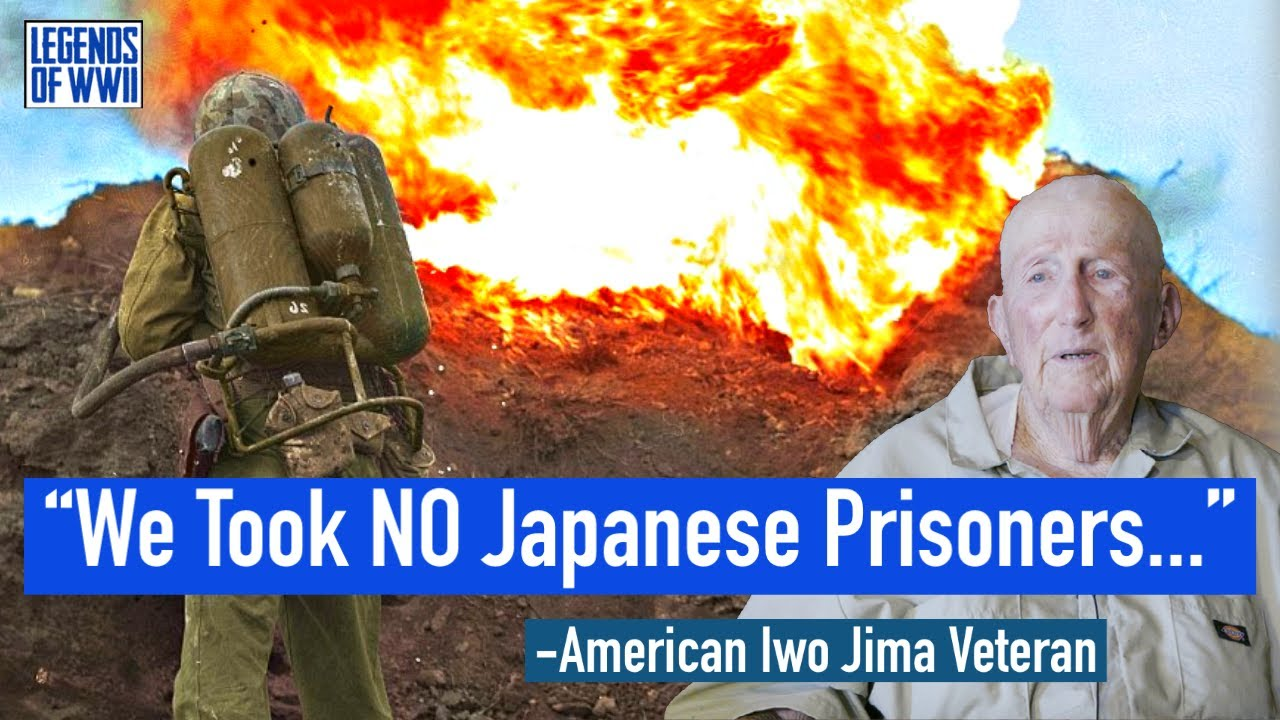 WW2 Marine Describes Hand to Hand Fighting on Iwo Jima   Legends of WWII Episode #2