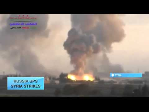Russia Ups Syria Strikes: Cruise missiles fired from Caspian Sea at targets in Syria