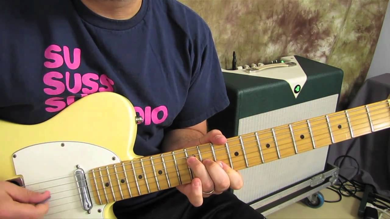 Chord Substitution Easy Guitar Lesson Youtube