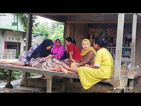 Vlog Desa || ngintip ibu-ibu muda ngerumpi, membicarakan hal jorok