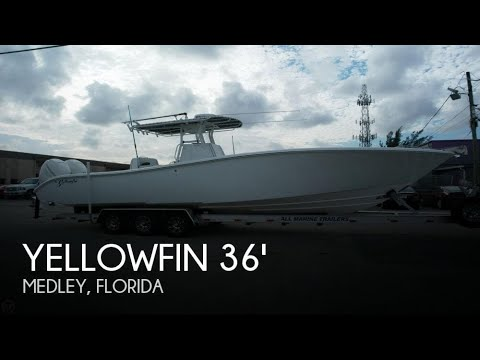 [UNAVAILABLE] Used 2007 Yellowfin 36 offshore tournament in Medley, Florida