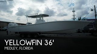 Used 2007 Yellowfin 36 offshore tournament for sale in Medley, Florida