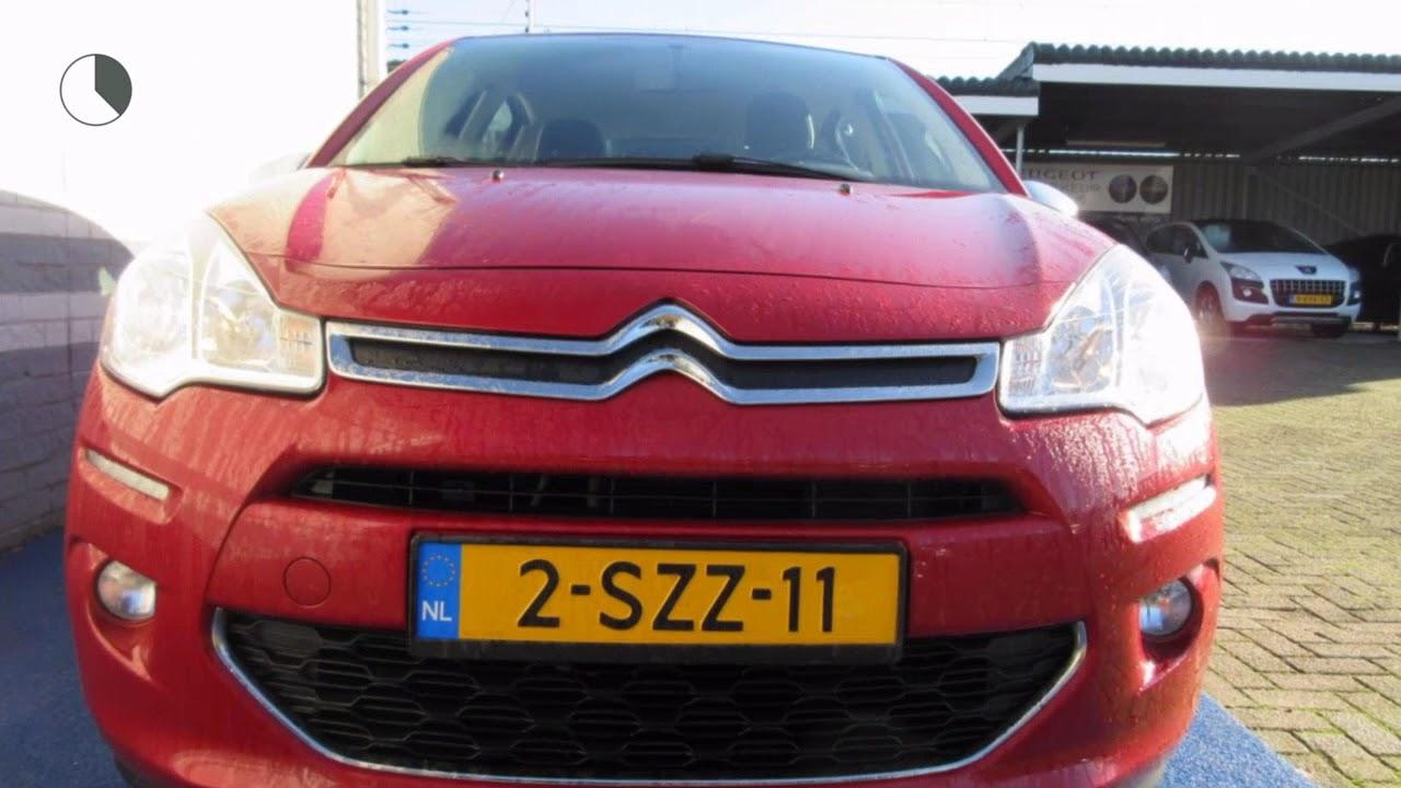 Citroen Garage Zwolle : Citroën c3 1.2 vti 82pk collection climate control youtube