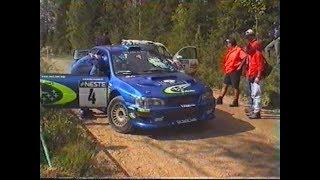 WRC Rally Finland 2000 SS3 Mökkiperä