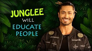 "Vidyut Jammwal: ""ANIMALS are very COOL, Humans need to be TAUGHT how to be AWARE""