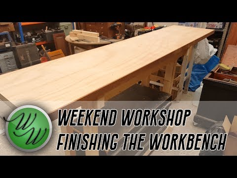 Ben's Weekend Workshop - More of the No-Nails No-Nonsense Workbench!