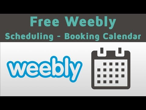How to add a booking system to my Weebly website? - Sagenda