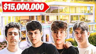 NRG Fortnite's New LA House Tour Vlog | Clix, Ronaldo, Edgeyy, EpikWhale