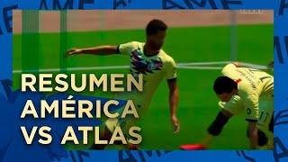 Resumen Y Goles #eligamx: América 2-0 Atlas Santiago Cáseres