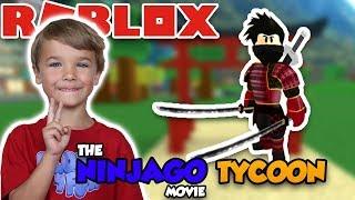 THE NINJAGO MOVIE TYCOON   BE THE COOLEST NINJA in ROBLOX