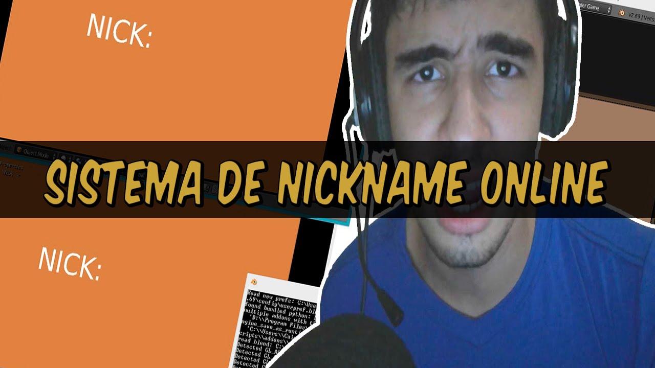 Nick para jogos