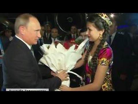 Путин прибыл на саммит ОДКБ в Душанбе