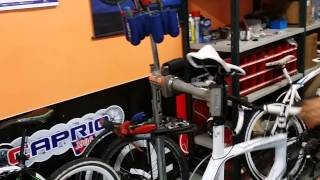 Cavalletti bici da officina per ciclo officine bici biciclette