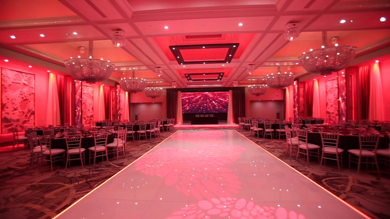 Legacy Ballroom Lighting Modern Wedding Banquet Hall