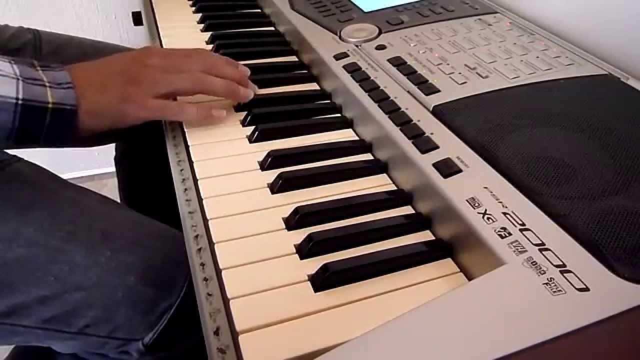 Manual do teclado yamaha psr 2000