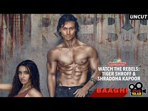 Tiger Shroff & Shraddha Kapoor - StarVaar With Baaghi - Desimartini